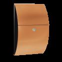 MEFA Journal 632 RAL 9005 og front i kobber