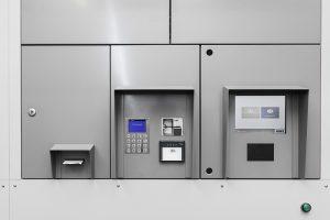 Renz pakkepostanlæg Click&Collect - terminal