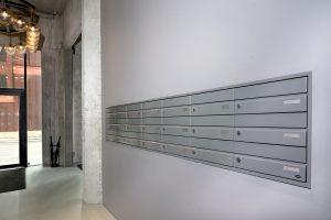 Renz Plan postkasseanlæg i The Silo Cph